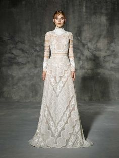 dfe2b8049de5 Yolan Cris 2018 Boho Wedding Dress, Wedding Gowns, Lace Wedding Dress With  Sleeves,
