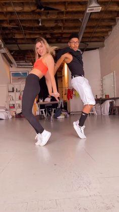 Shuffle dancing