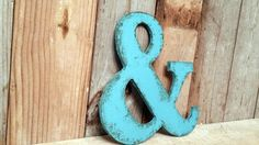 Rustic shabby chic 42 Letters CHOOSE your own door ThePinkToolBox