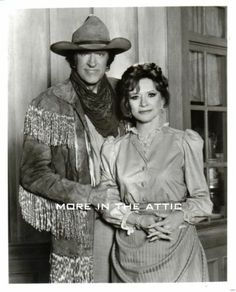 Gunsmoke James Arness Amanda Blake Original Return to Dodge Western Portrait   eBay