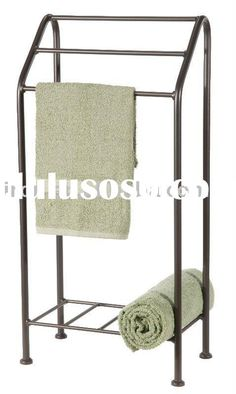 The Stone County Ironworks Freestanding Monticello Towel Stand is a stylish and functional addition to your bathroom. This freestanding towel stand provides ample space for hanging your towels, bathrobes, or Bath Towel Racks, Towel Rack Bathroom, Towel Holder, Bathroom Storage, Free Standing Towel Rack, Standing Bath, Hanging Towels, Bath Accessories, Wrought Iron