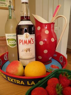 Pimm's all ready to mix