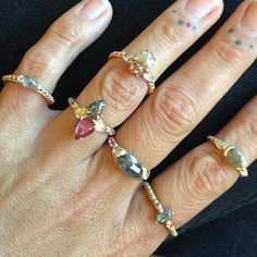 Polly Wales rings