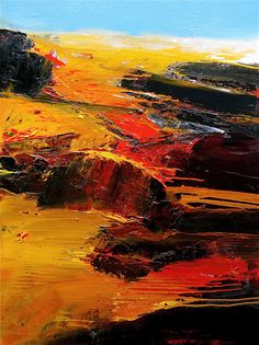 """Katama"" Paintings by Gerard Stricher"