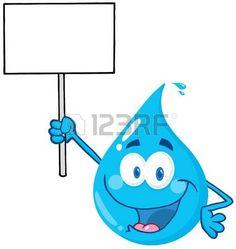 Resultado de imagen para botella de agua caricatura