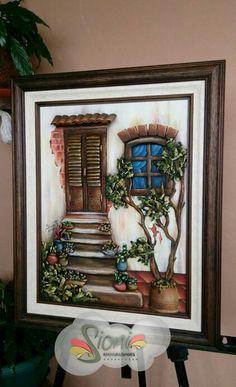 Pintura en relieve