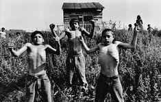 Gypsies by Josef Koudelka Lives of people who kept wandering in search of their survival and the hope. These pictures show us their daily routine, beautiful music and some starvation for food.