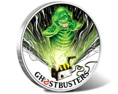 Ghostbusters - Slimer 2017 1oz Silver Coin