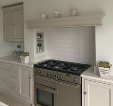 Range Cooker Kitchen, Kitchen Oven, Kitchen Tiles, New Kitchen, Kitchen Mantle, Kitchen Chimney, Cooker In Chimney Breast, Kitchen Layout Plans, Kitchen Cabinet Remodel