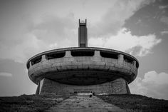 Totally Lost, a project by Spazi Indecisi on the architectural heritage of European totalitarian regimes. Photo Kamren Barlow, Monument Buzludha; Bulgaria