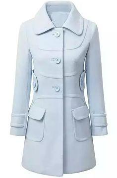 Shop Blue Lapel Long Sleeve Pockets Woolen Coat online. Sheinside offers Blue Lapel Long Sleeve Pockets Woolen Coat & more to fit your fashionable needs. Free Shipping Worldwide!