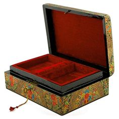 Buy Asian Mountain Flowers Oriental Wooden Jewelry Box 10 Inches X 7 Inches. BestPysanky Online Gift Shop Offers Jewelry > Wooden Jewelry Boxes for Sale