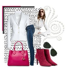 """""""Well...If You Insist..."""" by paperdollsq ❤ liked on Polyvore featuring Canvas by Lands' End, Balenciaga, True Religion, Diane Von Furstenberg and Ray-Ban"""