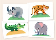 Nursery Animal Prints, Martin Wickstrom Safari Theme Nursery, Animal Nursery, Nursery Prints, Nursery Wall Art, Unisex Baby Gifts, Or Mat, Safari Animals, Art Wall Kids, Printable Wall Art