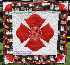 Maltese cross quilt