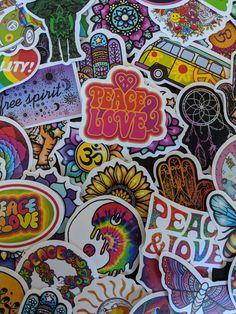 Hippie Vibes Sticker Pack