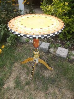 uniquely mad hatter style painted furniture - Google Search