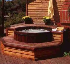 Manufacturer of finely crafted redwood, cedar and teak hot tubs.