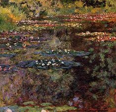10. Claude Monet, Water Lilies, 1904