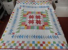 2nd December. Our friend Liv is a keen quilter and she gave me this lovely example of her work