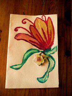 Carte voeux avec dessin pour tout les occasion 11 !!!!!!!!!pièce unique. : Cartes par ninita-nikolina