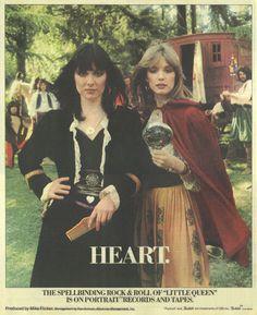 heart the band | Original album advertising art.