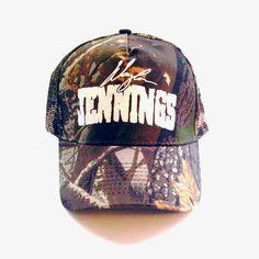 747f9c74798 Waylon Jennings Signature Trucker Hat - Oak Camo