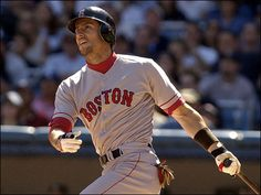 Nomar Garciaparra- one of my favorite baseball players of all time. great shortstop, amazing hitter, just an all-around fantastic baseball player. I saw his last two games with the Red Sox at Camden Yards in Baltimore. Wish he was still playing the game.