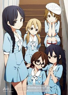 k on mio and yui - Google Search