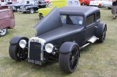 Right, first things first. Years ago I had an idea of building a T hotrod on a Caterham style 7 chassis. This would be a ground-breaking rod and have the superb handling of a 7. Sadly, someone has