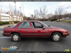 1989 Chevrolet Corsica. Bought it with only 36,000 miles from my grandparents again. ~sigh~ Crashed it  2 days before our wedding! :( Still regret that! Nirvana sounded so good on that sound system! And smooth ride, plush interior...etc...