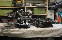 Okay, let's continue our story about Honda SOHC engine. I completely disassembled engine, made all measuring of its parts and as a result has got a Honda Cb750, Engine Rebuild, Engineering, Home Decor, Decoration Home, Room Decor, Technology, Home Interior Design, Home Decoration