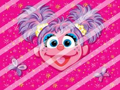 Abby Cadabby Edible Cake Topper Frosting 1/4 Sheet Image #3