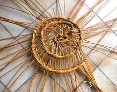 une très belle découverte, faite récemment, que ce panier particulier appelé bouyricou. Je vous en donne la définition mentionnée sur le site de l'association de la mémoire du bouyricou (voir le lien). Le bouyricou est un panier traditionnellement réalisé...
