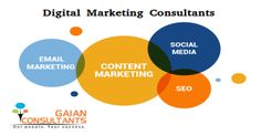 Digital Marketing Consultants Gaian's Digital Marketing consultants are here to help you leverage the power of digital/internet marketing. We are offering Search Engine Optimization(SEO), Search Engine Marketing(SEM), Social Media Marketing(SMM), Email Marketing, Content Marketing, Mobile Marketing, Affiliate Marketing and Web analytics.