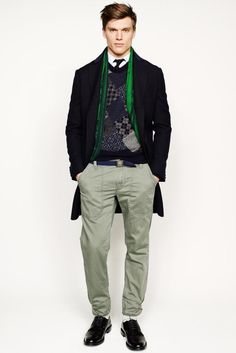 J.Crew 2014 Fall/Winter Collection: Though a widely distributed and accessible design label, J.Crew keeps up with its contemporaries Men's Collection, Winter Collection, Vogue Paris, New York Mens, J Crew Men, Fall Winter 2014, Fall 14, Mens Fall, Well Dressed Men