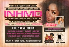 Check out the monthly #naturalhair events with the Naturalistas in Nap. #indianapolis http://thewaytonaturalhair.com/current-events-and-projects/