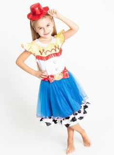 Disney Toy Story Multicoloured Jessie Costume years) from Tu at Sainsbury's ! Your Online Shop for Kids Fancy Dress Jessie Costumes, Toy Story Costumes, Toy Story Decorations, Toy Story Cupcakes, Toy Story Invitations, Fancy Dress For Kids, Cowgirl Hats, Toy Story Party, Red Scarves
