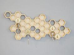 20 porte clés et boîtes à clés originaux   20 porte cles boite a clef originaux alveole de ruche 1