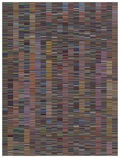 Jason Salavon - One Week Skin (ESPN-Vs), 2012 - Archival Inkjet Print - 70 x 53 in Espn, Fine Art, Creative, Visual Arts