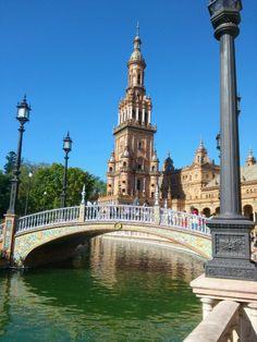 Plaza de España de Sevilla. Octubre 2012