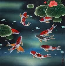 koi-fish-paintings - Google Search