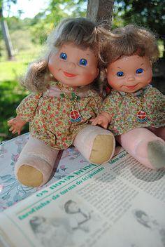 bonecas farofinha de 1979