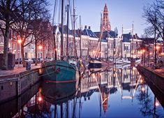 Groningen, the Netherlands: My home town! Always come back after a journey