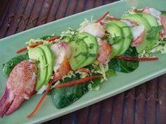 Lobster and Avocado Salad