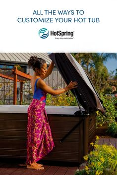 Create a backyard oasis that's uniquely yours with these customization options. Spring Spa, Backyard Retreat, All The Way, Hot Springs, Oasis, Create, Spa Water