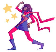 Kamala flexes fanart by tanakas Ms Marvel Captain Marvel, Marvel Fan Art, Marvel Avengers, Marvel Memes, Marvel Dc Comics, Ms Marvel Kamala Khan, Ms Marvel Cosplay, Dc Comics Women, Young Avengers