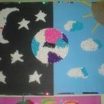 Moon craft idea for kids The other side of the moon Tommy is an astronomy lover. He wonders about the other side of the moon. Sun Crafts, Space Crafts, Crafts For Kids, Astronaut Craft, Astronomy, Moon, Craft Ideas, Star, Night