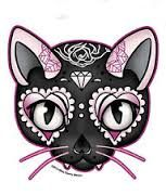 cat sugar skull - Google Search                                                                                                                                                                                 More