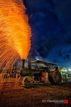 WMSTR ( Western Minnesota Steam Threshers Reunion) sparks contest Rollag, Mn by Jeff Henningsgaard